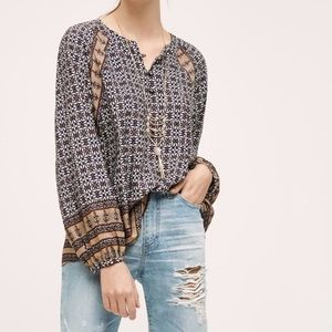 Adorable Peasant Top from Anthropologie!